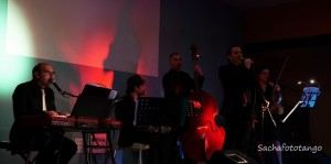orchestra Tango ensemble