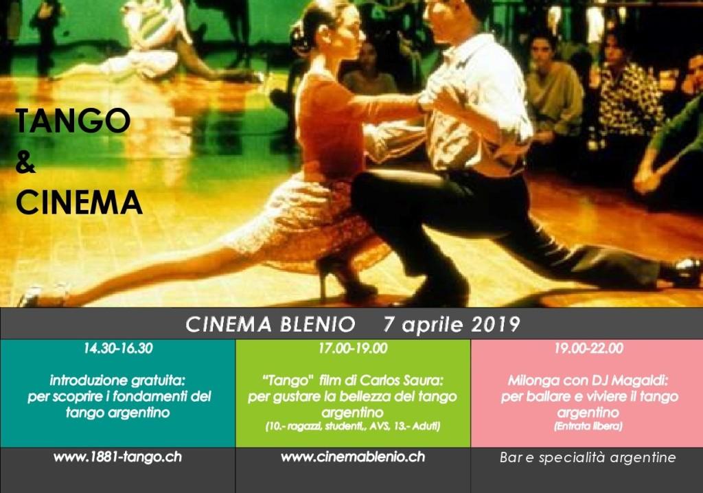 Cinema Blenio Tango Milonga 7.4.19