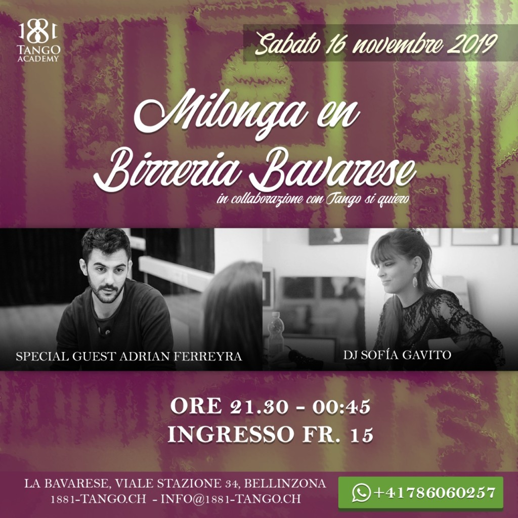 Milonga in Birreria 16.11.19